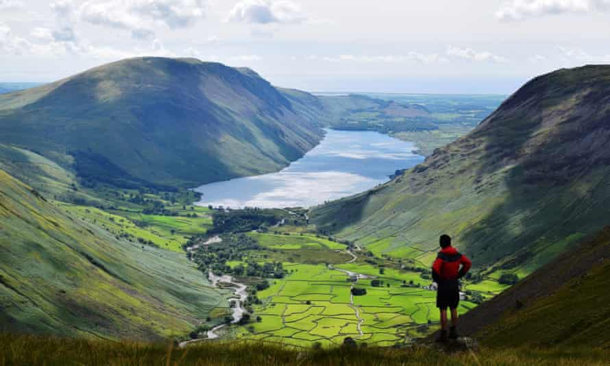 Getting away from it all in the Lake District.