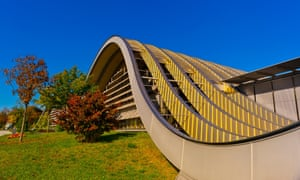 The Zentrum Paul Klee gallery, designed by Italian architect Renzo Piano, Bern, Canton Bern, Switzerland