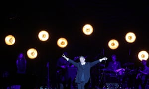 'An ecstatic cry for freedom' ... kd lang in Hull.