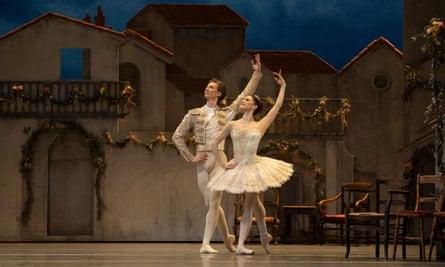 Marianela Nunez and Vadim Muntagirov in Don Quixote.