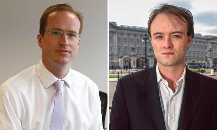 Matthew Elliott and Dominic Cummings, who ran Vote Leave.