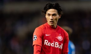 Takumi Minamino impressed the Liverpool players during the two Champions League games.