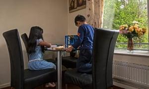 Alia's children in Huddersfield