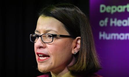 Victorian health minister Jenny Mikakos