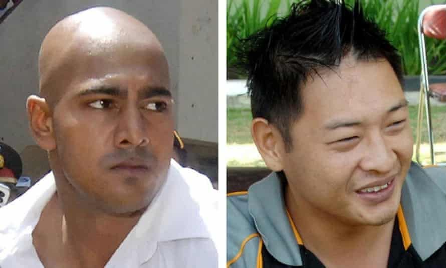 Australians Myuran Sukumaran, left, and Andrew Chan, two of the Bali Nine drug smuggling ring, were executed by firing squad in Indonesia a year ago.