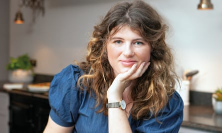 Ella Risbridger in her kitchen