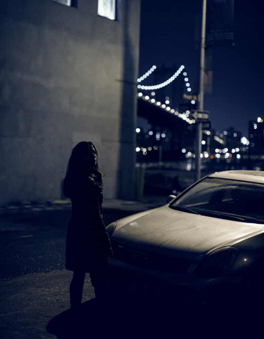 Emmanuelle Welch in Brooklyn's Dumbo neighborhood.