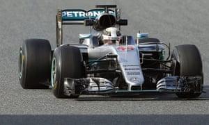Mercedes, Lewis Hamilton