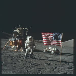 The Apollo 17 team landed on the moon on 11 December 1972