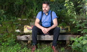 Benjamin Myers photographed near his home in West Yorkshire.