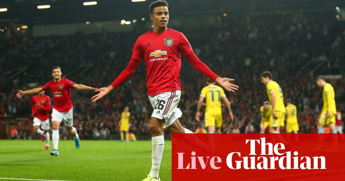 Manchester United v Astana, Wolves v Braga, Rangers v Feyenoord – live!