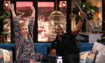 Terry Crews on Busy Tonight.