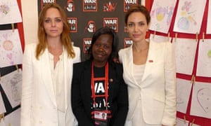 StellaMcCartney, Polline Akello, and Angelina Jolie Draw me to Safety summit, 10 June 2014