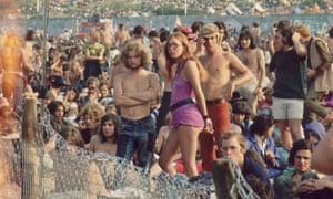 Isle Of Wight festival, 1970.