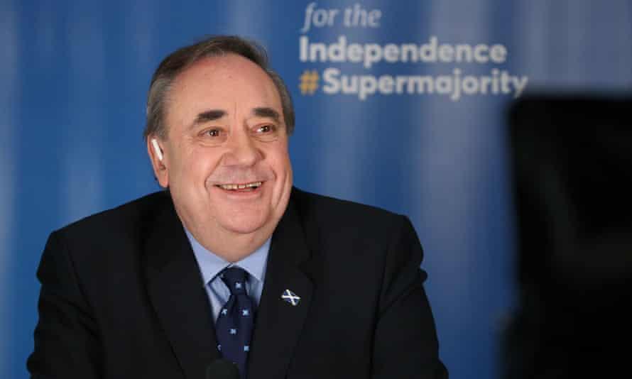 Alex Salmond launches his Alba party's election campaign in Ellon, Aberdeenshire