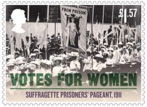 Suffragette prisoners' pageant, 1911