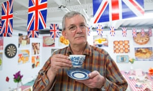 Documentary photographer Martin Parr at an exhibition in Bloomsbury,London<br>G26H1M Documentary photographer Martin Parr at an exhibition in Bloomsbury,London