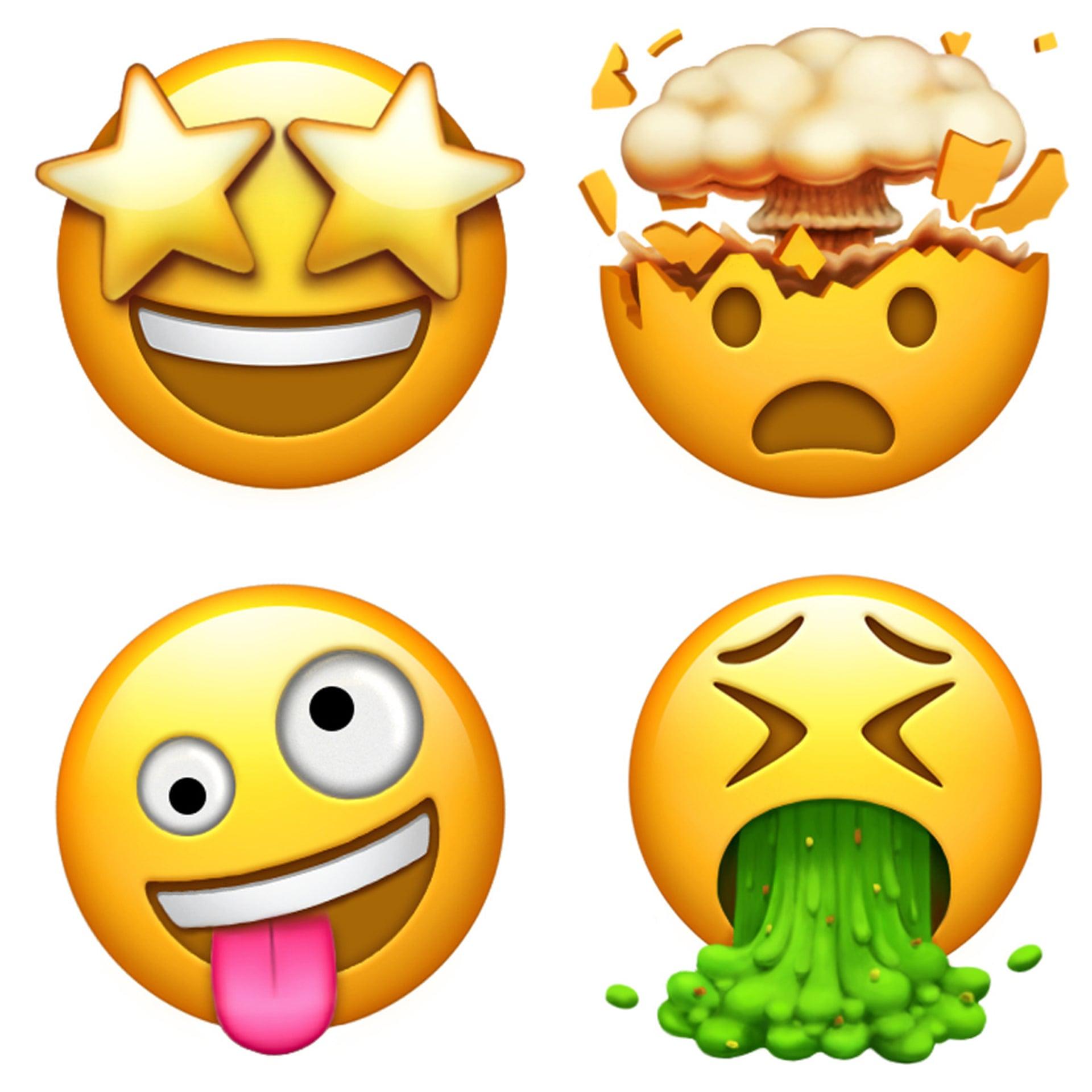 Emoji yang dikeluarkan Apple
