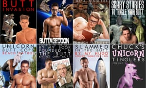 Chuck Tingle book covers