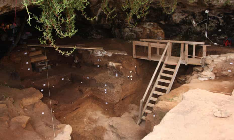 The Contrebandiers Cave on the Atlantic coast of Morocco, where the bone tools and bones were found.