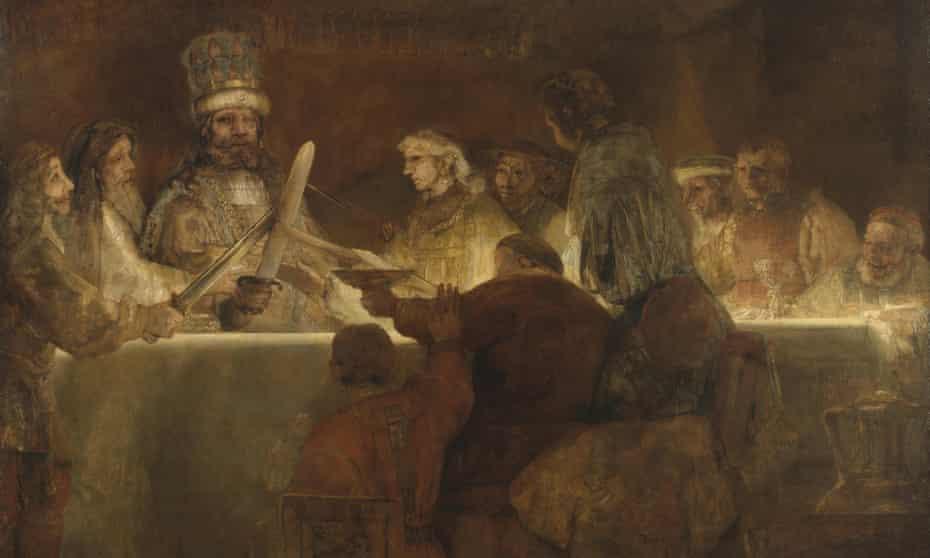 Unwanted work … Rembrandt's Conspiracy of Claudius Civilis.