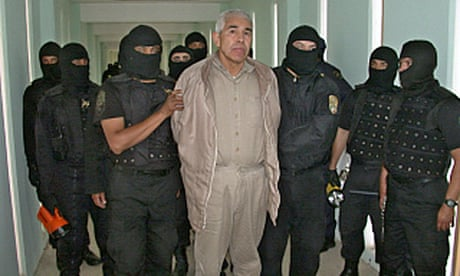 Fugitive Mexican drug lord says he has no money in legal appeal