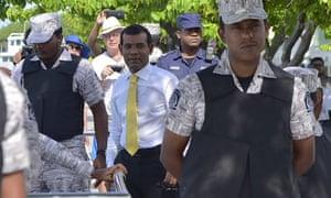 Maldives' former president Mohamed Nasheed