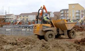 Housebuilding site