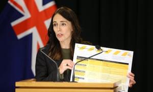 Jacinda Ardern national address