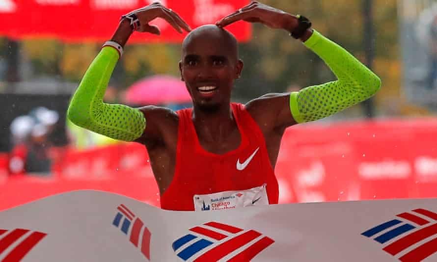 Mo Farah set a new European record to win the Chicago Marathon.