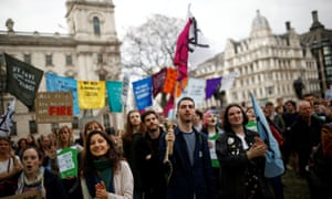 Extinction Rebellion protest, London