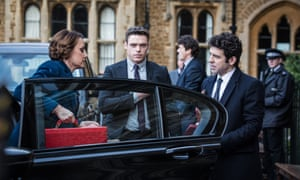 Ready in Bodyguard with Keeley Hawes and Richard Madden.