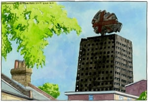 Grenfell Tower 16 June.