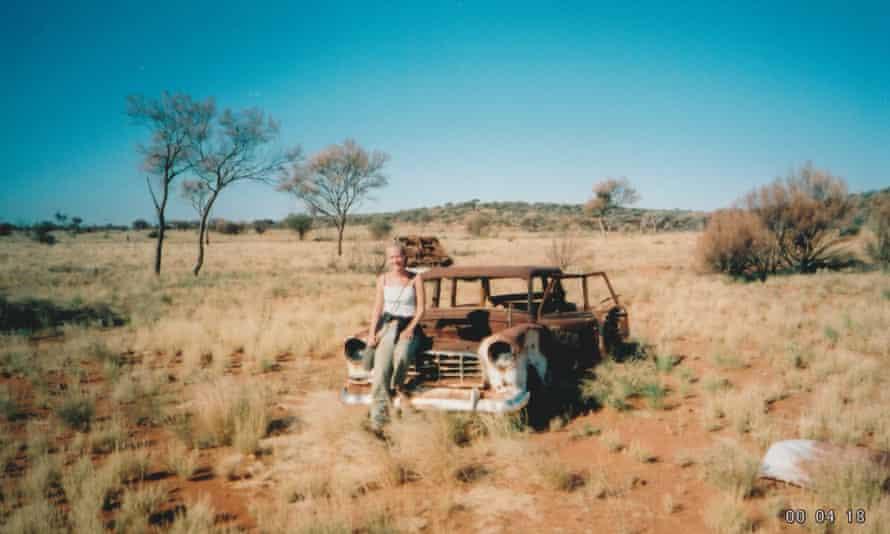Caroline Riches on her journey across central Australia