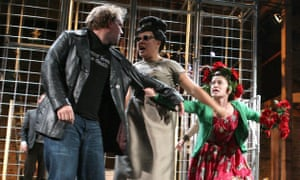 Cymbeline performed by Kneehigh theatre company