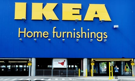 An Ikea store in Brooklyn, New York