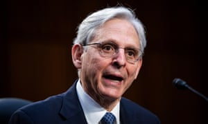 The Senate confirmed federal judge Merrick Garland as attorney general on Wednesday.
