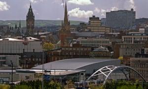 The Sheffield skyline