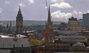 Sheffield: one of several UK cities tackling financial exclusion through its own loan services.