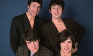 The Kinks. Clockwise from bottom left: Mick Avory, Pete Quaife, Dave Davies and singer Ray Davies.