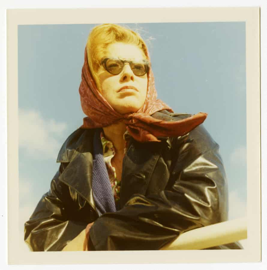 Monica Jones photographed by Philip Larkin on the Isle of Mull, Scotland, 1971