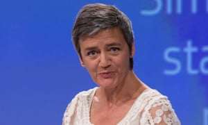 Margrethe Vestager, the EU commissioner for competition.