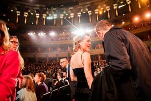 Gillian Anderson at the Royal Albert Hall, 2019