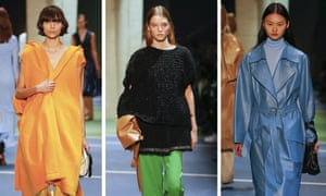 Wide style from the autumn/winter Céline show.