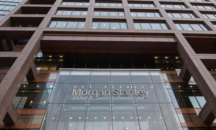 Morgan Stanley's UK headquarters in Canary Wharf, London