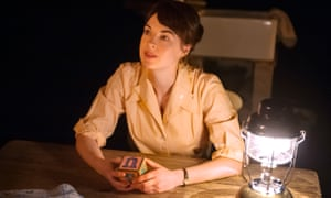 Jessica Raine as Beatie in Arnold Wesker's Roots at the Donmar Warehouse in 2013