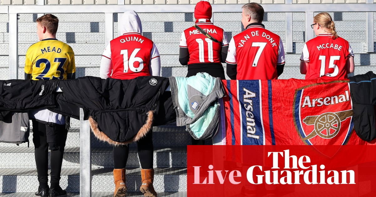 Arsenal v Chelsea: Womens Super League – live!