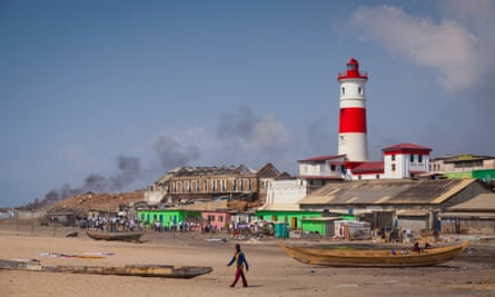 Jamestown lighthouse, Accra.