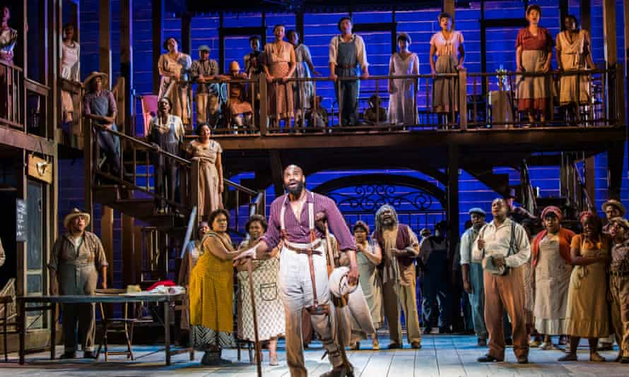 Eric Greene as Porgy in the ENO production of Porgy and Bess.
