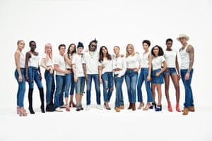 Among diverse models for Gap's Bridging the Gap campaign.